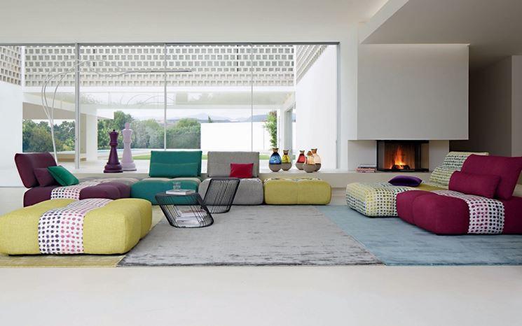 divani dai colori vivaci