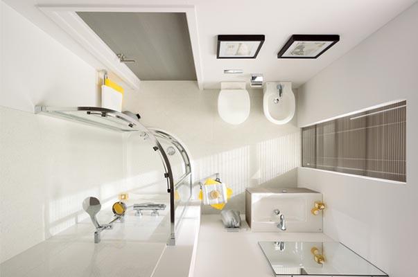 Come valorizzare un bagno stretto brafa ruggeri rosolini